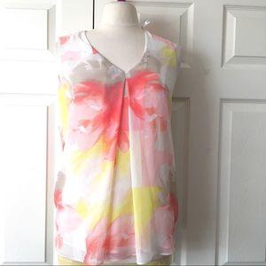 Calvin Klein Floral Shirt Size M